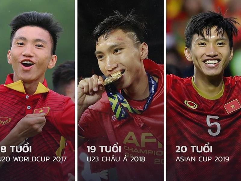 Văn Hậu trở về Việt Nam với chiếc áo V-League chật chội - ảnh 1