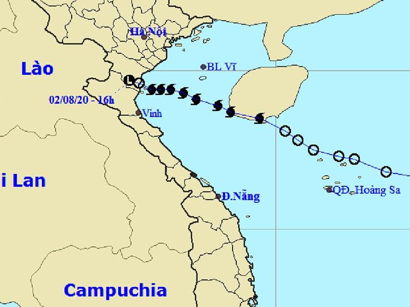 Bão số 2 suy yếu, mưa lớn diện rộng kéo dài ở Bắc bộ - ảnh 1