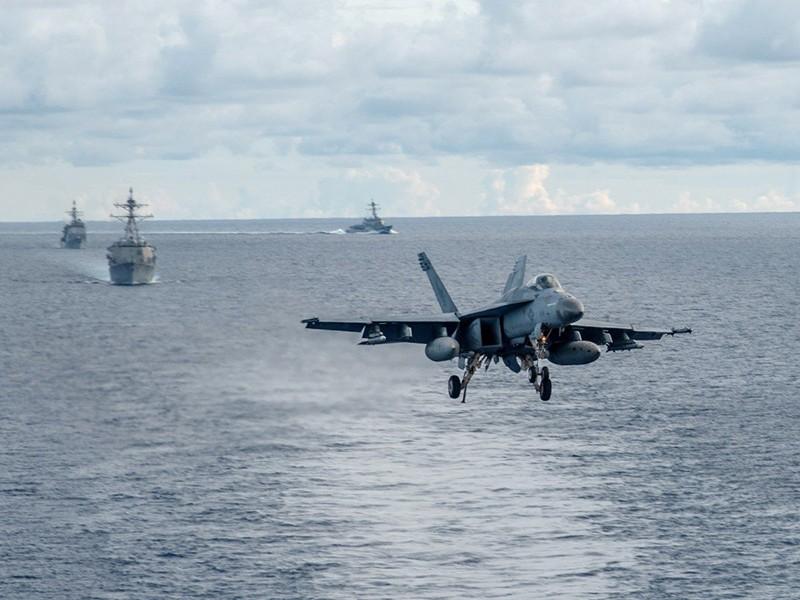 Mỹ-Trung: Ngoại giao trên cạn khó ngăn rủi ro ngoài biển - ảnh 1