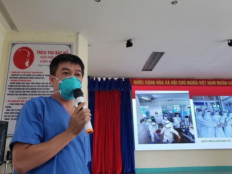 Chữa khỏi ca bệnh COVID-19 rất nặng tại Đà Nẵng - ảnh 1