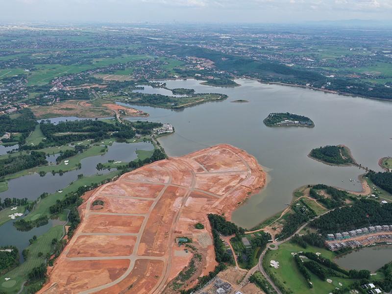 Vĩnh Phúc: Hồ Đại Lải bị thất lạc mốc giới - ảnh 1