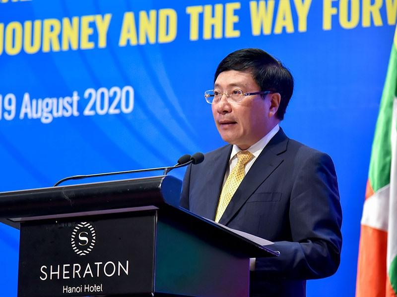 ASEAN là trụ cột quan trọng trong đối ngoại của Việt Nam - ảnh 1
