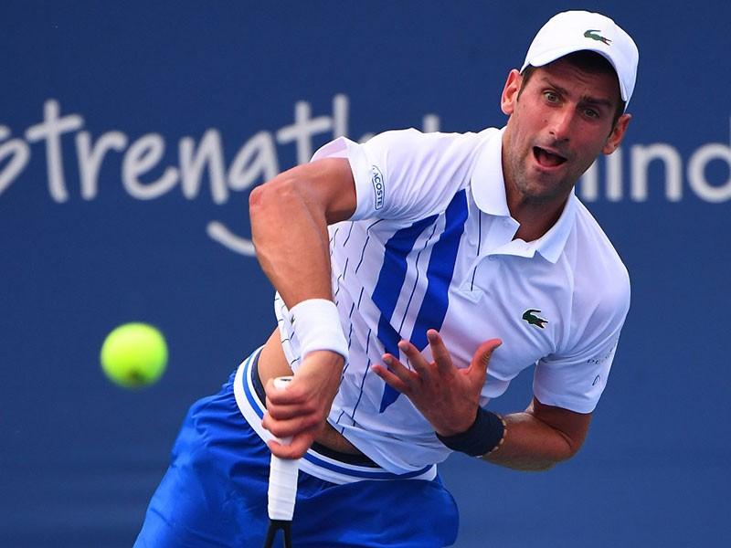 Djokovic và Dominic Thiem sáng cửa tranh chung kết Mỹ mở rộng - ảnh 1