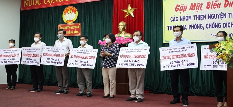 840 tấn gạo và hơn 17 tỷ đồng cho Đà Nẵng - ảnh 1