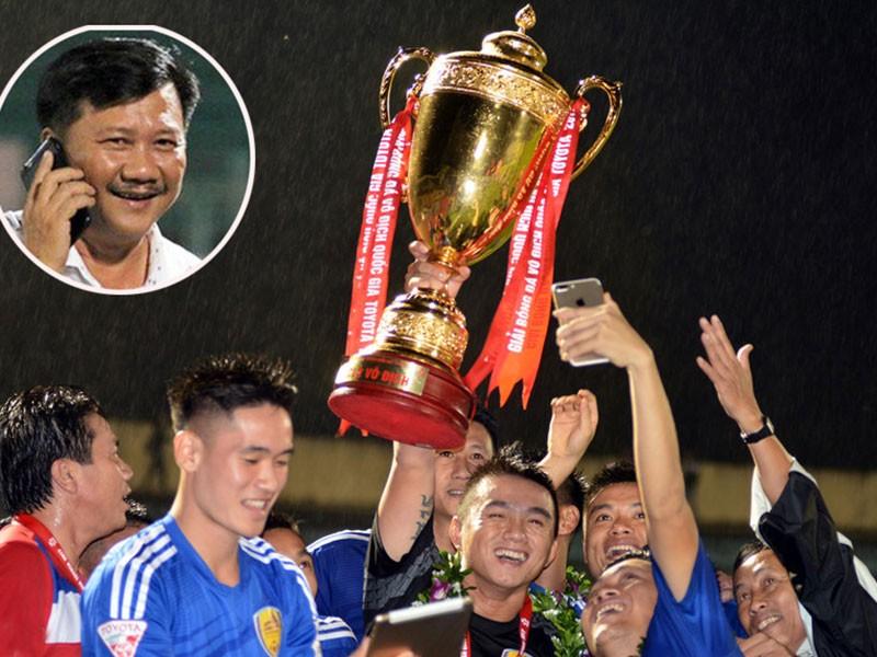 Bóng lăn lại, CLB Quảng Nam không muốn đá sân trung lập - ảnh 1