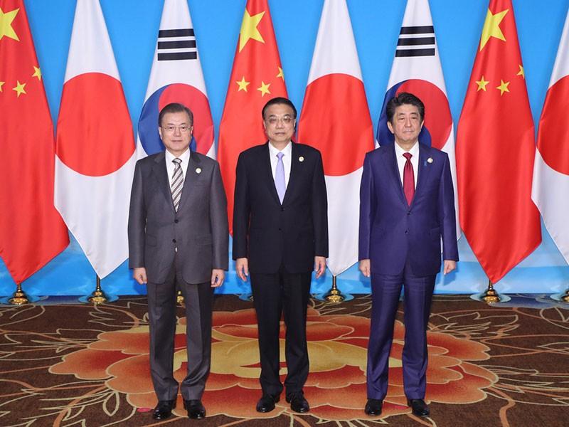 Tam giác Hàn - Trung - Nhật hậu Shinzo Abe - ảnh 1