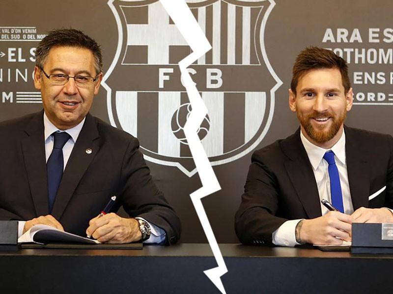 Messi và Barca - Miễn cưỡng không hạnh phúc - ảnh 1