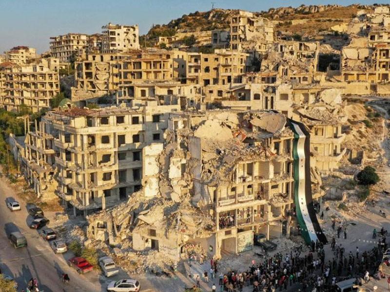 Israel tiếp tục nã hàng loạt tên lửa vào thủ đô Syria - ảnh 1
