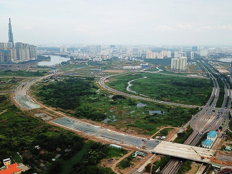 Suất đầu tư 4 tuyến đường KĐT Thủ Thiêm không cao - ảnh 1