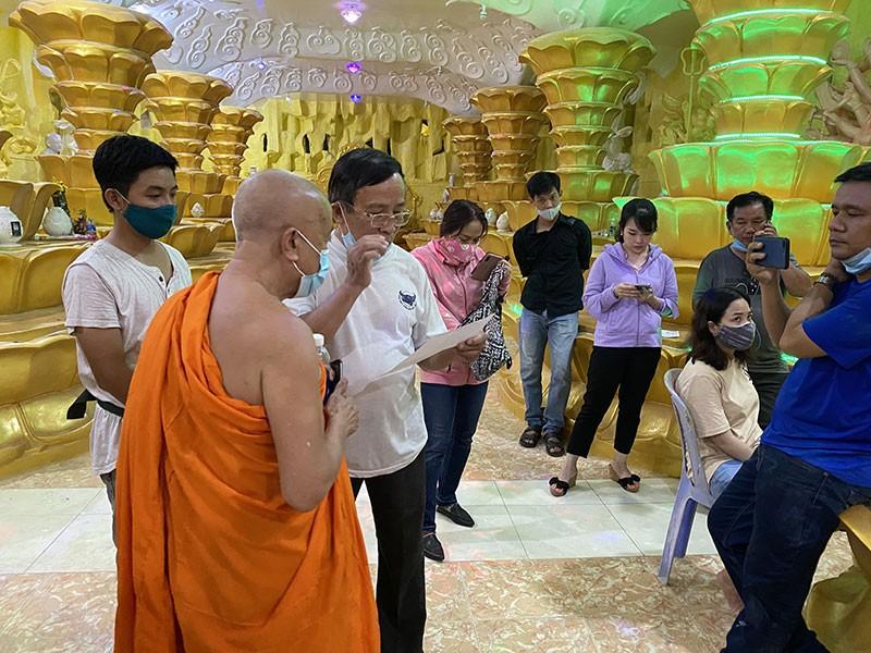 Trụ trì chùa Kỳ Quang 2 chịu phí giám định tro cốt - ảnh 3