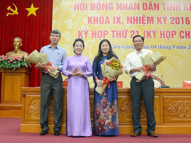Bí thư huyện ủy làm phó chủ tịch HĐND tỉnh Kiên Giang - ảnh 1