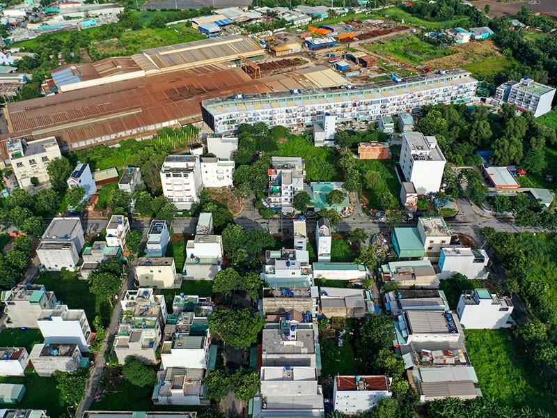 8 khu dân cư 'khủng' xây sai phép ở Bình Chánh - ảnh 1