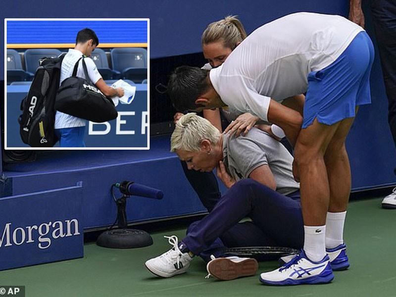 Cú đánh 'chết người' tan tành giấc mơ của Djokovic - ảnh 1