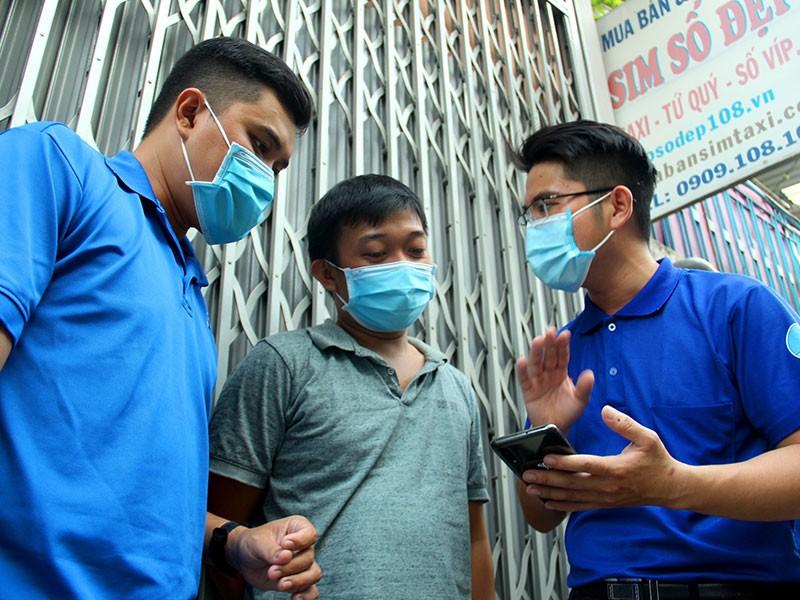Tổ xung kích chống trộm ở quận Bình Tân - ảnh 1
