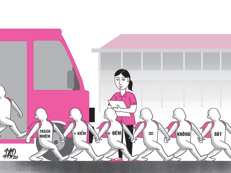 Quản lý sao để không bỏ quên trẻ trên xe đưa đón? - ảnh 1