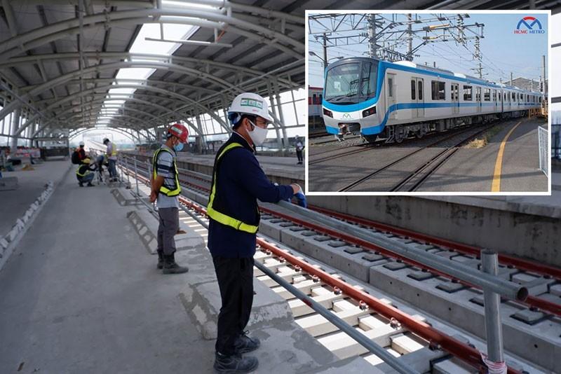 TP.HCM: Sắp hoàn thiện hạ tầng metro số 1 - ảnh 1