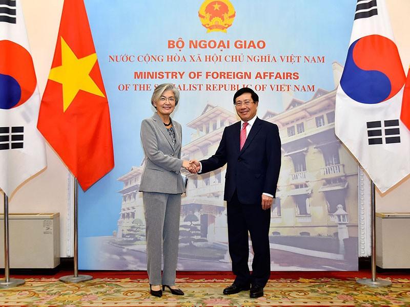 Việt Nam luôn coi trọng quan hệ với Hàn Quốc - ảnh 1