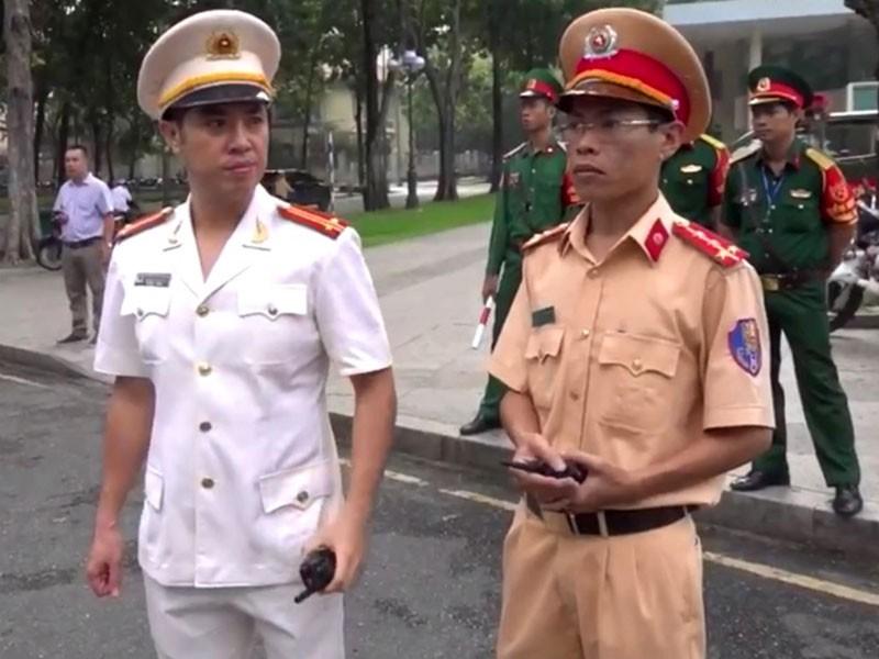 'Quân sư' hàng loạt cuộc ra quân của CSGT TP.HCM - ảnh 1