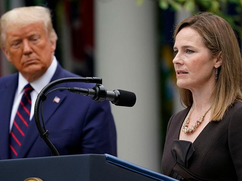 Canh bạc mạo hiểm của ông Trump khi chọn bà Barrett - ảnh 1
