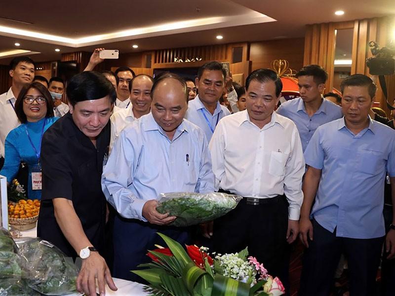 Thủ tướng đối thoại với nông dân Tây Nguyên - ảnh 1