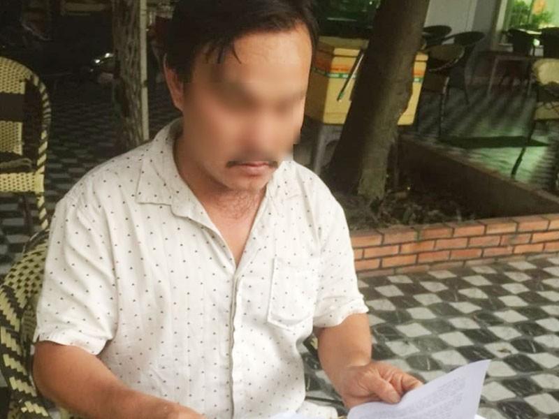Bị khởi tố vì tố cáo phó giám đốc công an - ảnh 1