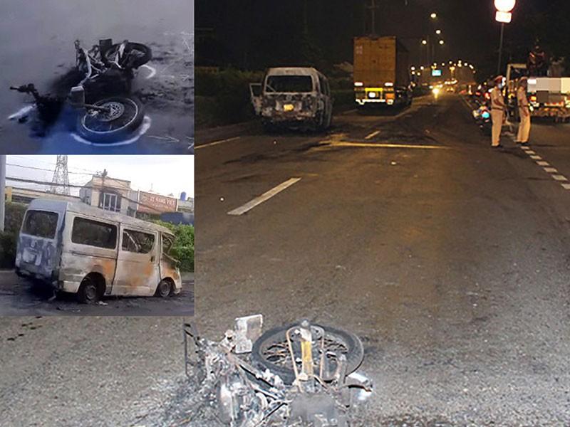 Ô tô kéo lê xe máy dân phòng ở Hóc Môn 6 km - ảnh 1