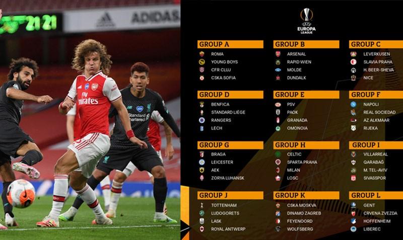 Europa League: Không có bảng tử thần - ảnh 1