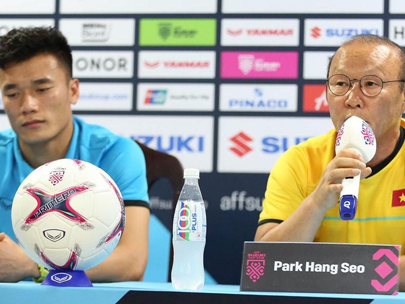 Ông Park đóng cửa với thủ môn Bùi Tiến Dũng - ảnh 1