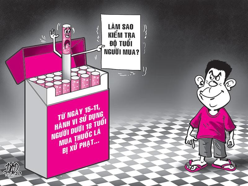 Sai con nhỏ mua thuốc lá sẽ bị phạt: 3 điểm khó! - ảnh 1