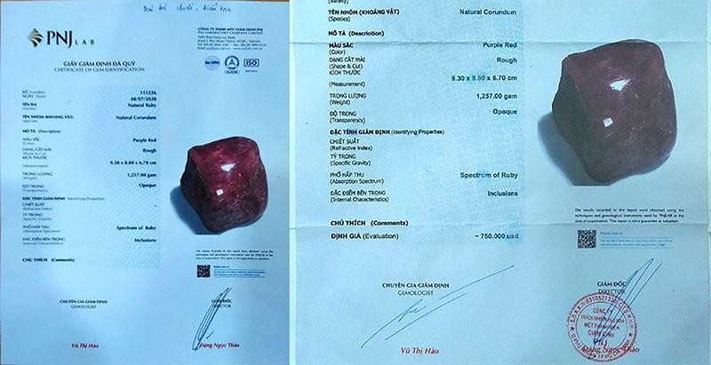 Sập bẫy giấy kiểm định kim cương, đá quý dỏm - ảnh 2
