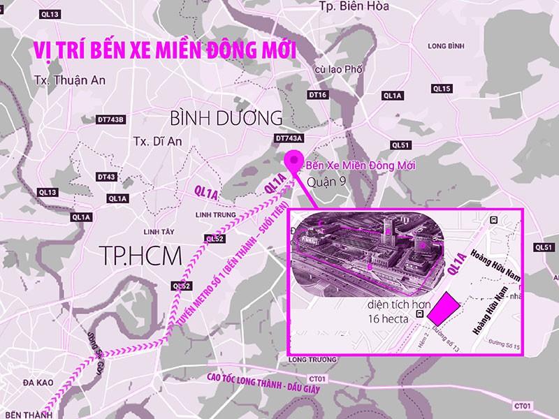 Bến xe Miền Đông mới: Bước đệm của TP Thủ Đức tương lai - ảnh 1