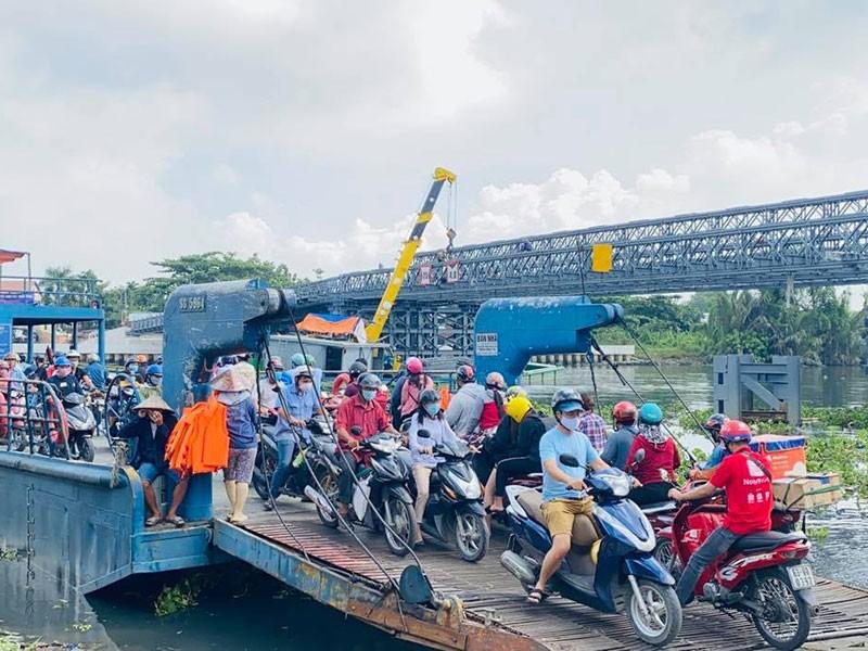 Có cầu An Phú Đông, dân hết lụy phà - ảnh 1