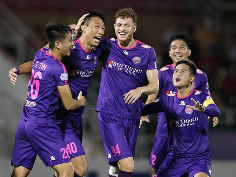 Sài Gòn FC thừa thắng xông lên - ảnh 1
