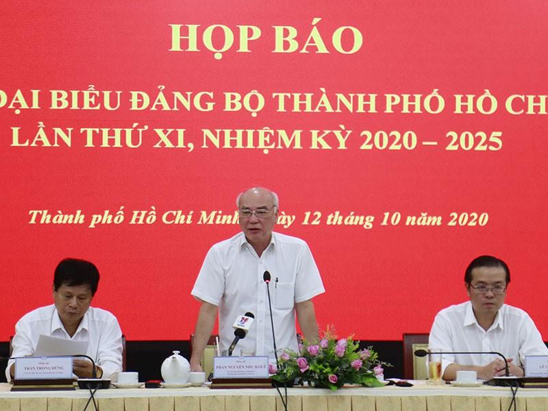Thành ủy TP.HCM khóa XI sẽ có 61 người - ảnh 1