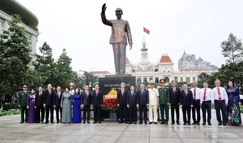 Sáng nay, Đại hội Đảng bộ TP.HCM khóa XI họp phiên trù bị - ảnh 2