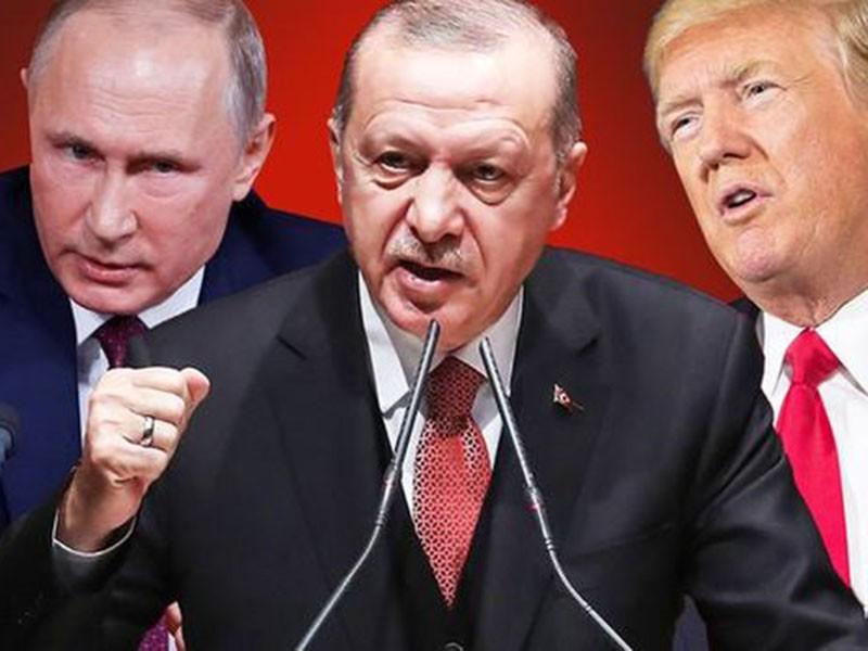 Tổng thống 'rắn tay' Erdogan khó yên khi đối đầu Mỹ lẫn Nga - ảnh 1