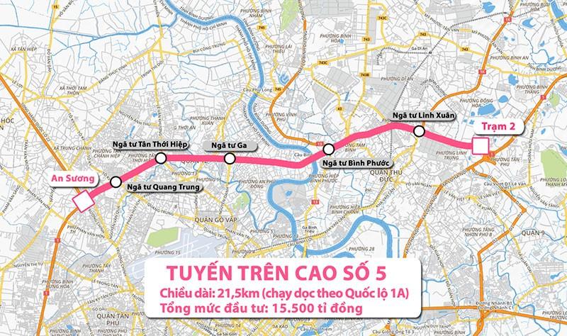 TP.HCM: 2 tuyến đường trên cao là cấp thiết - ảnh 1