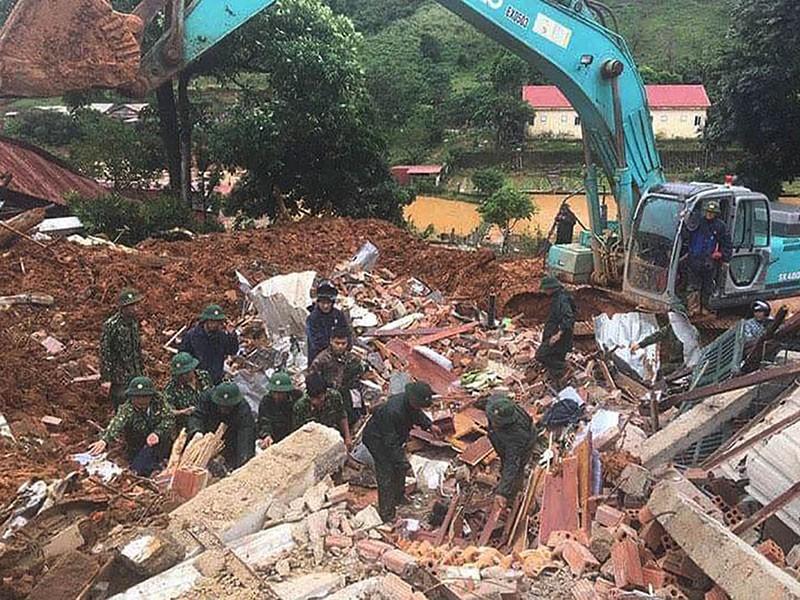 Lũ, sạt lở ở Quảng Trị, hàng chục người chết, mất tích - ảnh 1