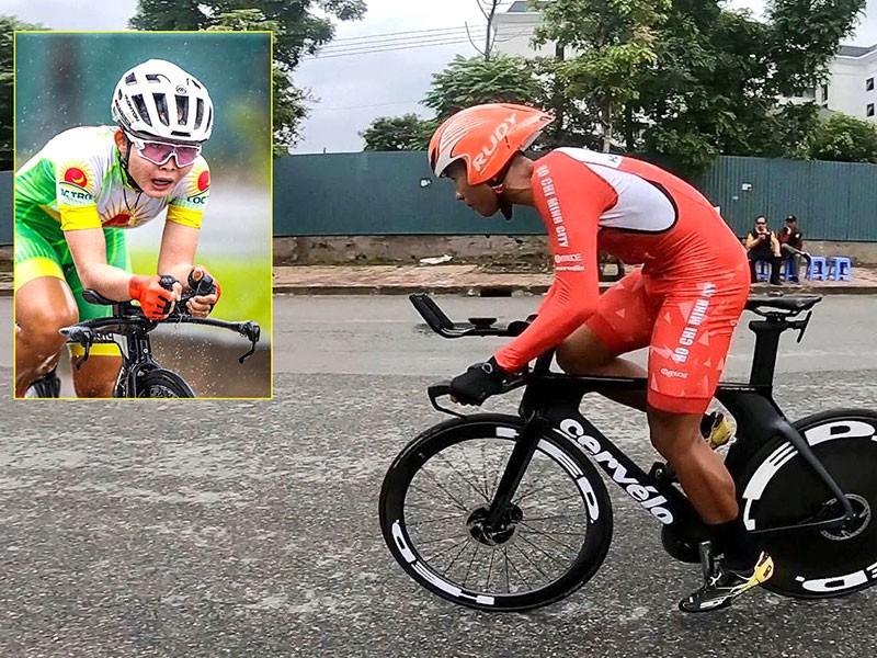 Tuấn Vũ, Thu Mai xuất sắc nhất giải xe đạp quốc gia - ảnh 1