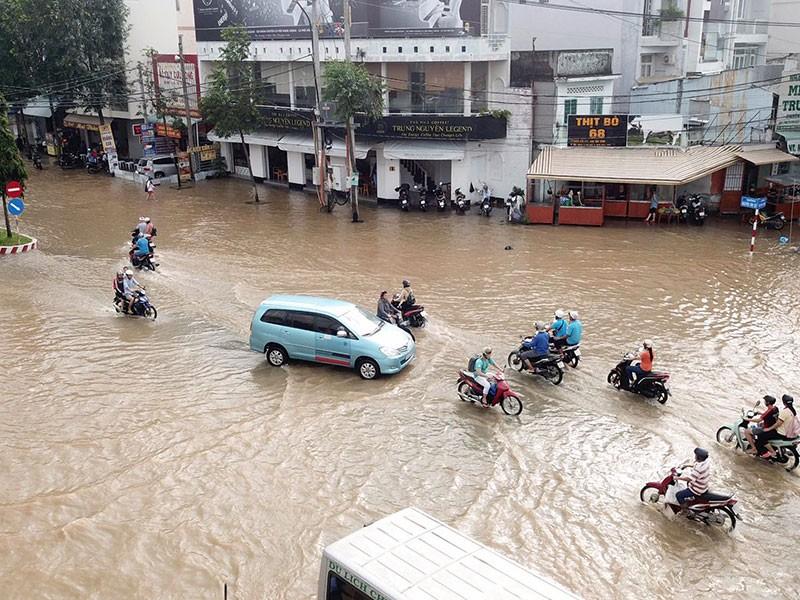 Chống ngập đô thị ở miền Tây: Nước đã đến chân - ảnh 1