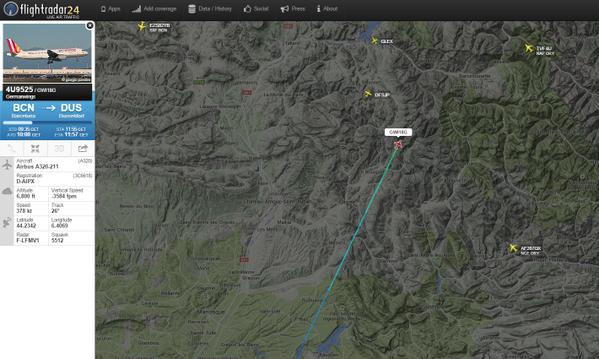 Máy bay rơi tại Pháp: Đã tìm thấy một hộp đen máy bay - ảnh 17
