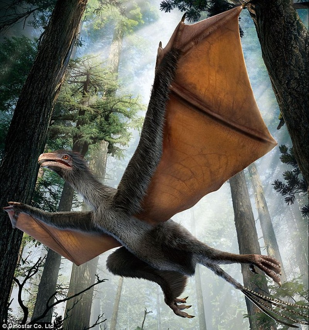 Phát hiện hóa thạch 'khủng long dơi' tại Trung Quốc - ảnh 1