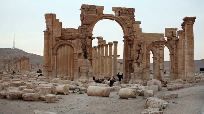 IS thảm sát 400 người ở thành phố Palmyra - ảnh 1