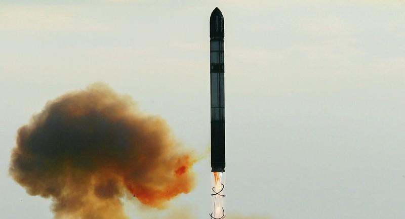 Nga bắt đầu thử nghiệm tên lửa liên lục địa Sarmat  - ảnh 1