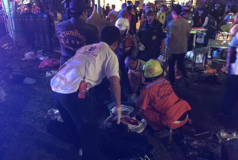Nổ bom Bangkok: 27 người thiệt mạng, Bộ Quốc phòng Thái Lan lên tiếng - ảnh 13