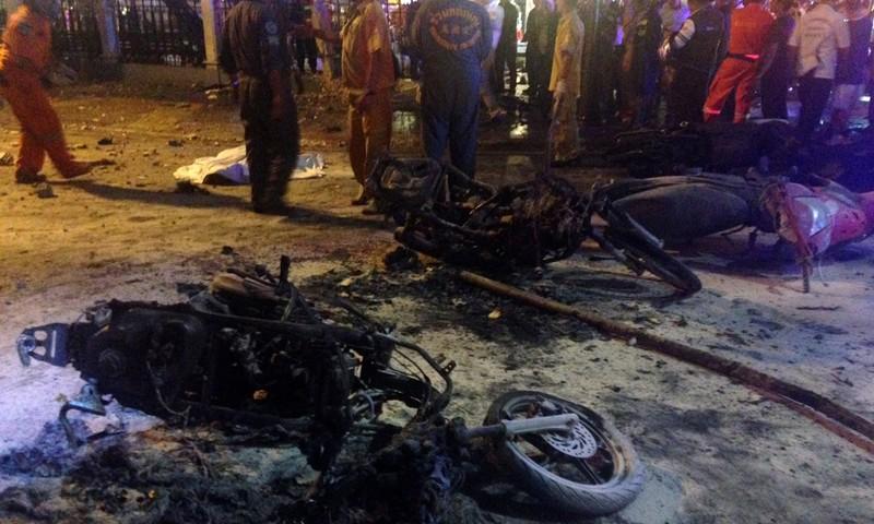 Nổ bom Bangkok: 27 người thiệt mạng, Bộ Quốc phòng Thái Lan lên tiếng - ảnh 12