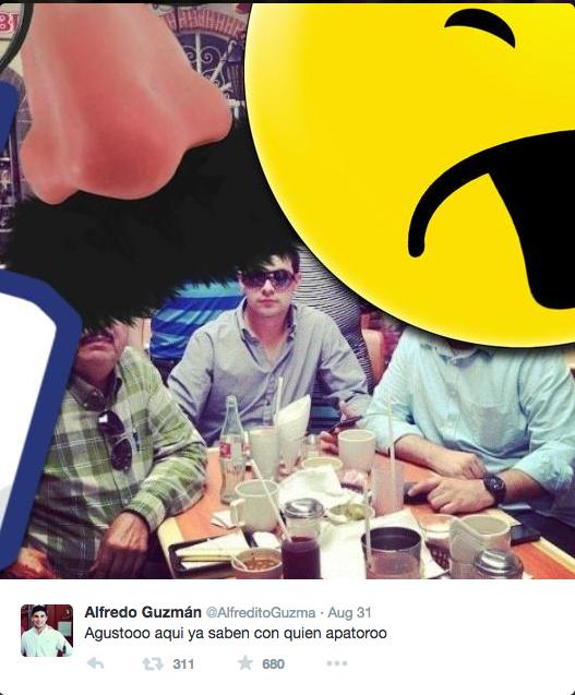 Trùm ma túy lộ nơi trú ẩn vì con trai xài Twitter - ảnh 1