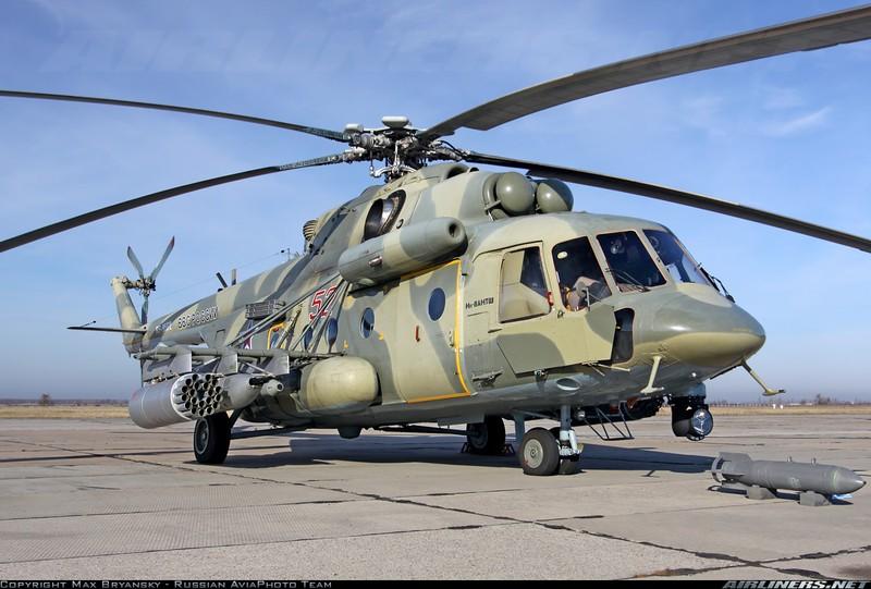 Trực thăng chiến đấu của Nga tham gia vào các chiến dịch ở Syria - ảnh 1