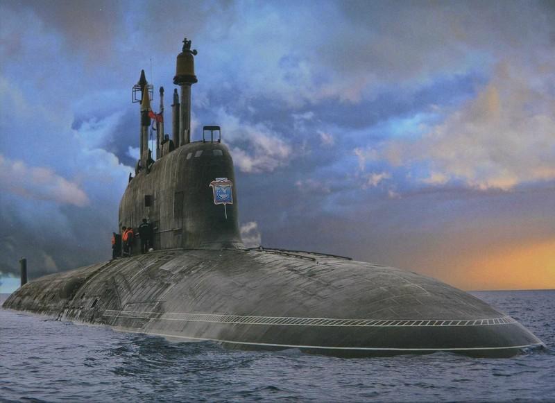 Nga phát triển tàu ngầm nguyên tử thế hệ mới - ảnh 1