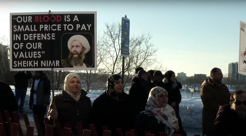 Dân Canada biểu tình đòi hủy hợp đồng chục tỉ USD với Ả Rập Saudi - ảnh 1